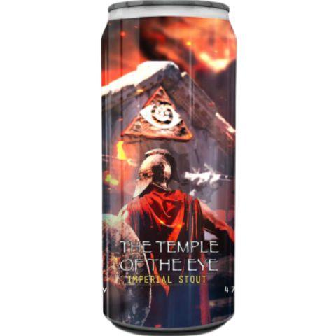 Cerveja Spartacus + Dogma The Temple Of The Eye Imperial Pastry Stout C/ Amendoim, Paçoca, Coco e Lactose Lata - 473ml