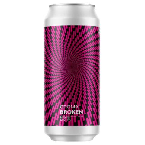 Cerveja Croma Broken Juicy IPA Lata - 473ml