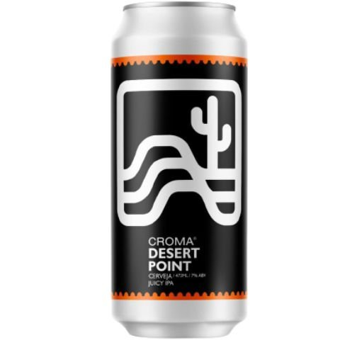 Cerveja Croma Desert Point Juicy IPA Lata - 473ml