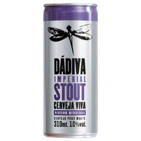 Cerveja Dádiva Imperial Stout Lata - 310ml