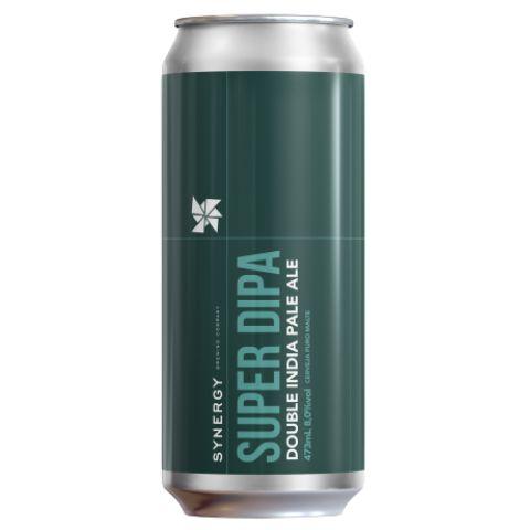 Cerveja Synergy Super DIPA Double IPA Lata - 473ml