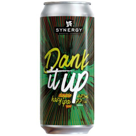 Cerveja Synergy Dank It Up Hazy Double IPA Lata - 473ml