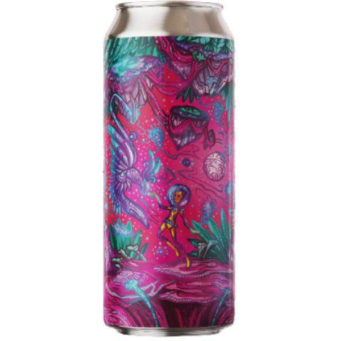 Cerveja Fermi Pandorian Biosphere American Gose C/ Amora, Pitaya, Coco, Avelã e Flor de Sal Lata - 473ml