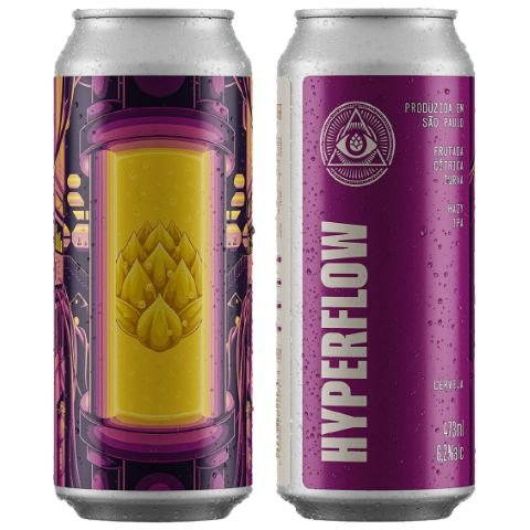 Cerveja Dogma Hyperflow Hazy IPA Lata - 473ml