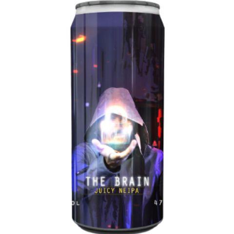 Cerveja Spartacus The Brain Juicy IPA Lata - 473ml