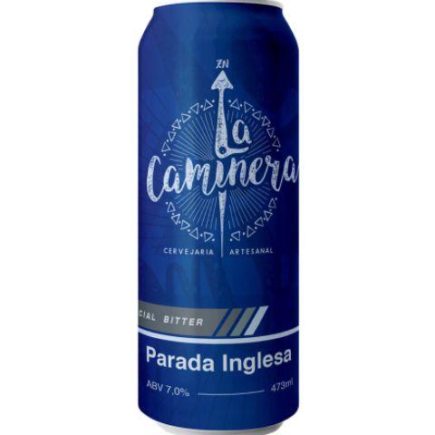 Cerveja La Caminera Parada Inglesa Extra Special Bitter Lata - 473ml