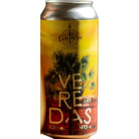 Cerveja La Caminera Veredas Double Juicy IPA Lata - 473ml