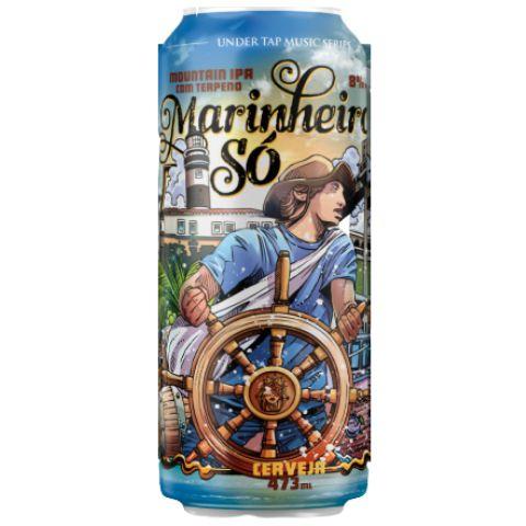 Cerveja Under Tap Marinheiro Só Mountain IPA C/ Terpenos Lata - 473ml