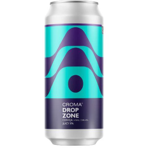 Cerveja Croma Dropzone DDH Juicy IPA Lata - 473ml