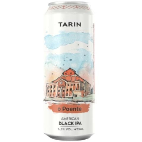 Cerveja Tarin O Poente Black IPA Lata - 473ml