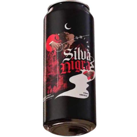 Cerveja HopMundi Silva Nigra Russian Imperial Stout C/ Frutas Vernelhas Lata - 473ml