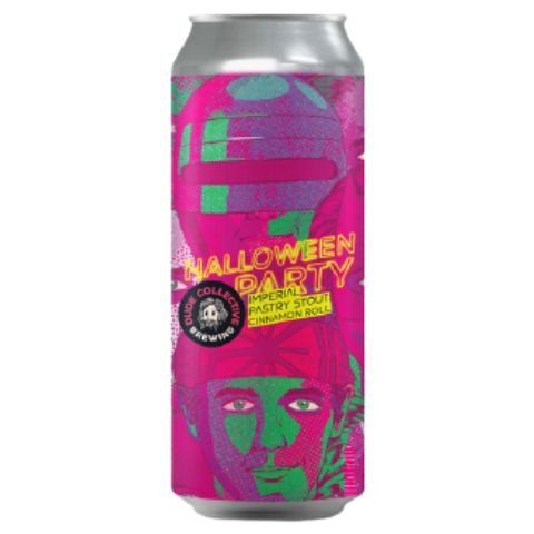 Cerveja Dude Brewing Halloween Party Cinnamon Roll Pastry Stout Lata - 473ml
