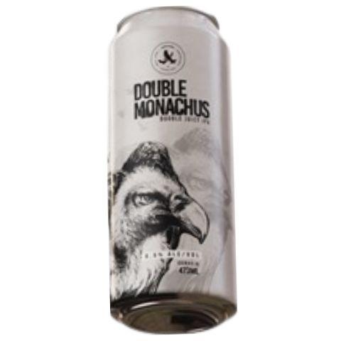 Cerveja Abutres Double Monachus Double Juicy IPA Lata - 473ml