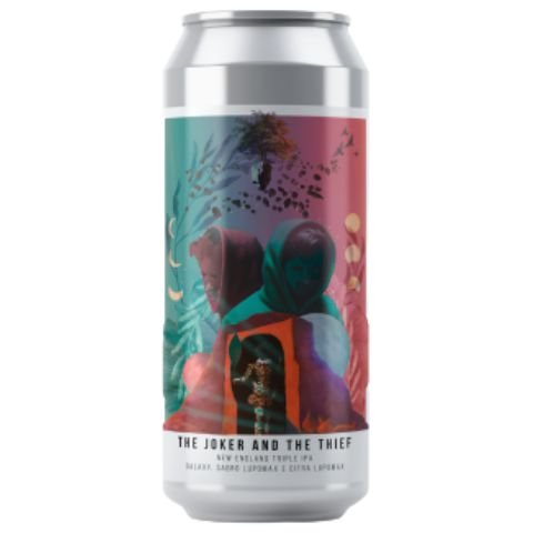 Cerveja Octopus The Joker and The Thief New England Triple IPA Lata - 473ml