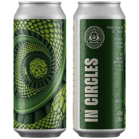 Cerveja Dogma In Circles Hop Hashed American Pale Ale Lata - 473ml