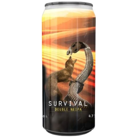 Cerveja Spartacus Survival Double NEIPA Lata - 473ml