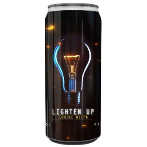 Cerveja Spartacus Lighten Up Double NEIPA Lata - 473ml