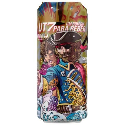 Cerveja Under Tap UT7 Um Bom Dia Para Beber Double West Coast IPA Lata - 473ml