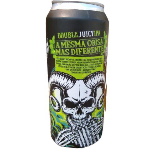 Cerveja Demonho A Mesma Coisa Mas Diferente Double Juicy IPA Lata - 473ml