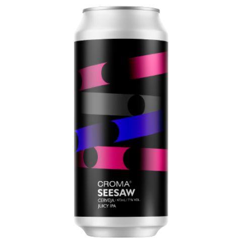 Cerveja Croma Seesaw Juicy IPA Lata - 473ml