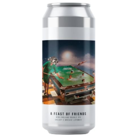 Cerveja Octopus A Feast Of Friends New England Double IPA Lata - 473ml