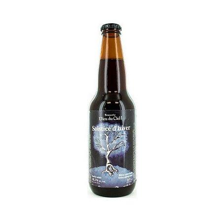 Cerveja Dieu du Ciel Solstice D' Hiver Barley Wine - 341ml