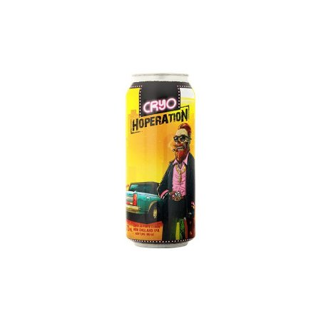 Cerveja Heróica Cryo Hoperation New England IPA Lata - 473ml