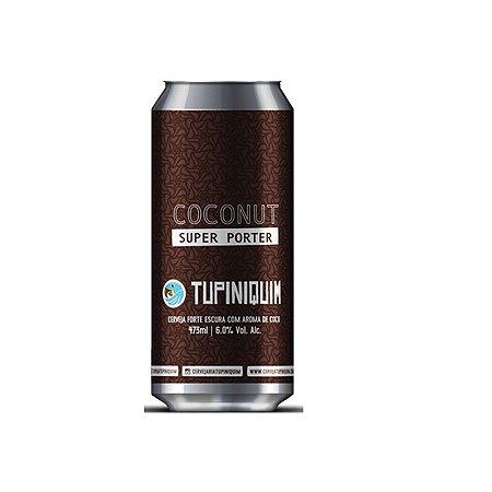 Cerveja Tupiniquim Coconut Super Porter Robust Porter Lata - 473ml