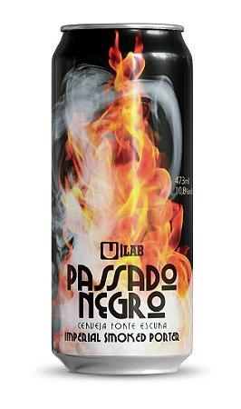 Cerveja Urbana Passado Negro Imperial Smoked Porter Lata - 473ml