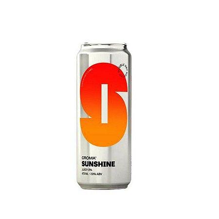 Cerveja Croma Sunshine New England IPA Lata - 473ml