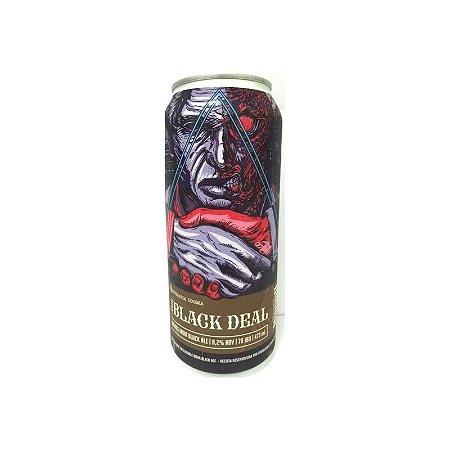 Cerveja Dogma & Maniba The Black Deal Double India Black Ale Lata - 473ml