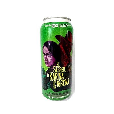 Cerveja Juan Caloto El Segredo de Karina Cristina Double Western Juicy IPA Lata - 473ml