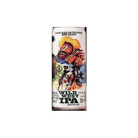 Cerveja Juan Caloto Wild West IPA Lata 310ml