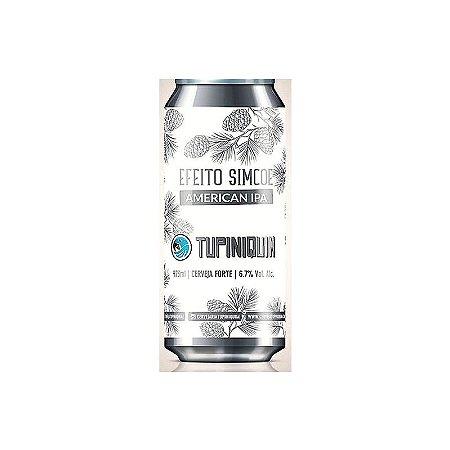 Cerveja Tupiniquim Efeito Simcoe American IPA Lata - 473ml