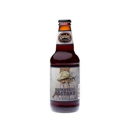 Cerveja Founders Backwoods Bastard Scotch Ale Bourbon Barrel Aged - 355ml