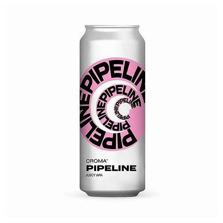 Cerveja Croma Pipeline Juicy APA Lata - 473ml