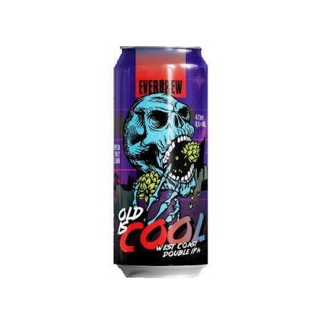Cerveja EverBrew Old Is Cool West Coast Double IPA Lata - 473ml