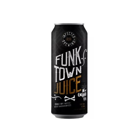 Cerveja Infected Brewing Funk Town Juice New England IPA Lata - 473ml