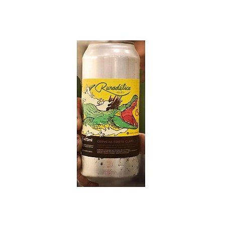 Cerveja Ruradélica Ales Crocodilo Double IPA Lata - 473ml