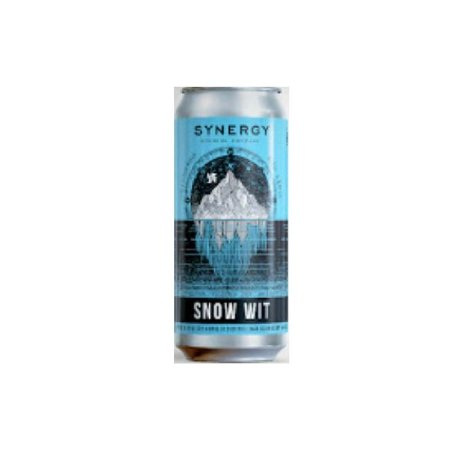 Cerveja Synergy Snow Wit Witbier Lata - 473ml