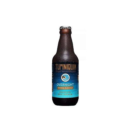 Cerveja Tupiniquim Overnight American Black Ale - 310ml