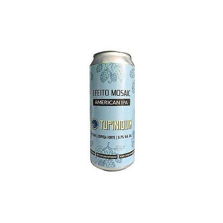 Cerveja Tupiniquim Efeito Mosaic American IPA Lata - 473ml