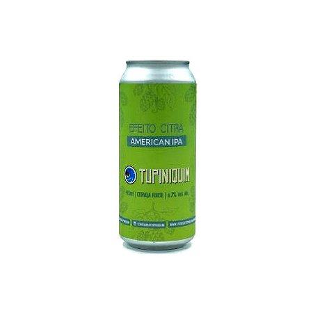 Cerveja Tupiniquim Efeito Citra American IPA Lata - 473ml
