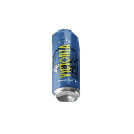 Cerveja Treze Victoria Juicy Pale Ale Lata - 473ml