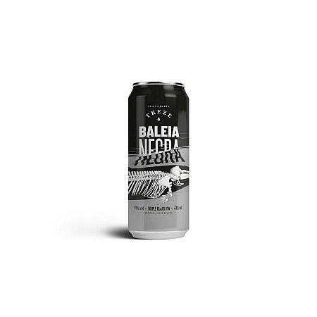 Cerveja Treze Baleia Negra Triple Black IPA Lata - 473ml