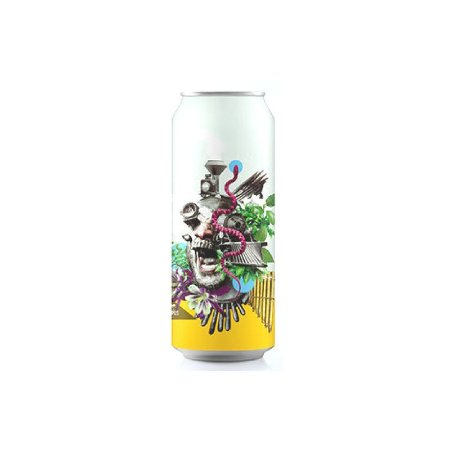 Cerveja Octopus Locomotive Brett Brett IPA Lata - 473ml