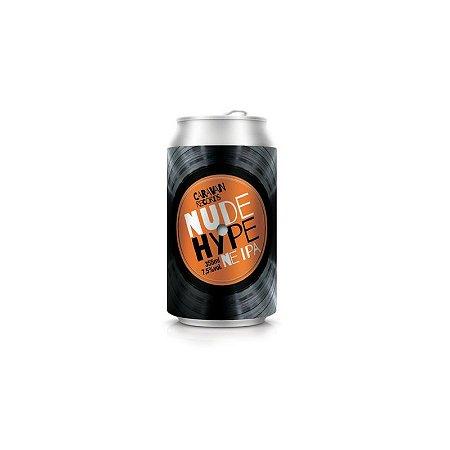 Cerveja Caravan Records Nude Hype New England IPA Lata - 355ml