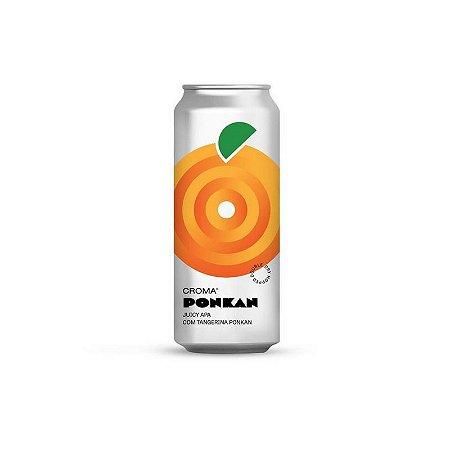 Cerveja Croma Ponkan Juicy APA C/ Tangerina Ponkan Lata - 473ml