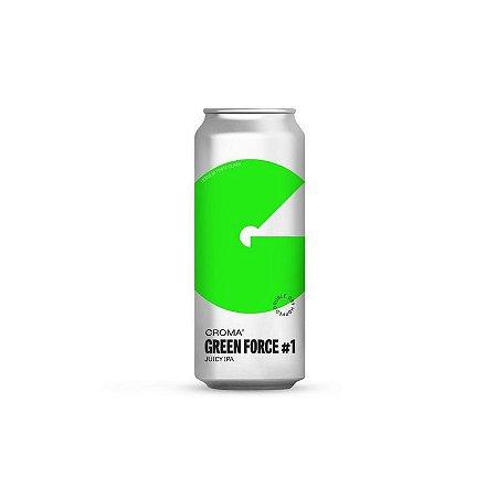 Cerveja Croma Green Force #1 Juicy IPA Lata - 473ml