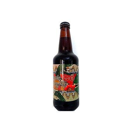Cerveja Quatro Graus Grote Hagedis Belgian Strong Dark Ale - 500ml